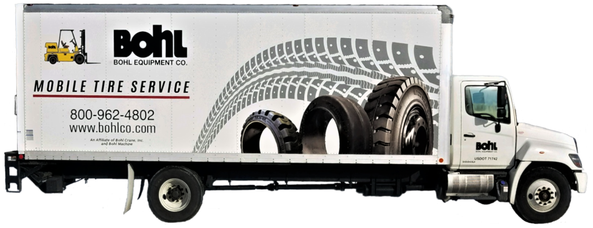 Mobile Tire Service >> Mobile Forklift Tire Service Forklifts In Ohio